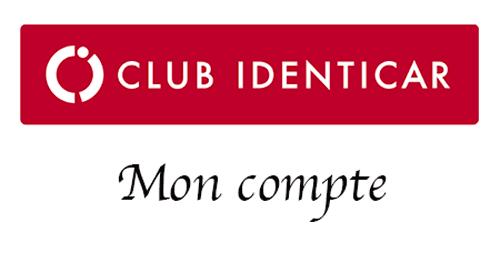 Se connecter à mon compte club identicar