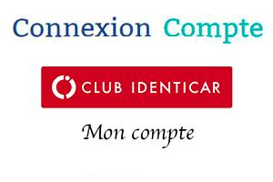 Connexion espace membre club identicar