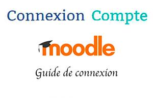 Plateforme moodle connexion