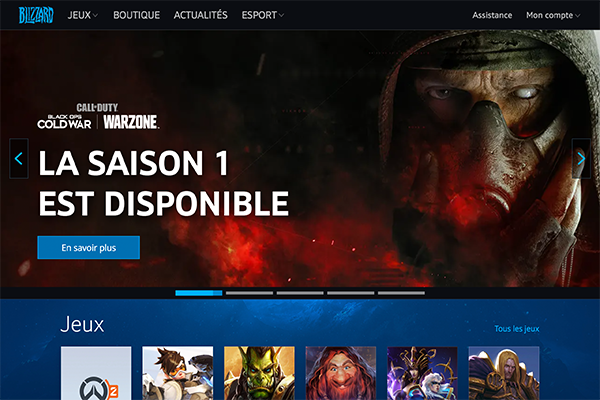 Site de Battle.net