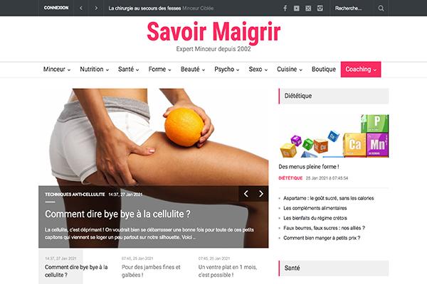 Site officiel savoirmaigrir.com