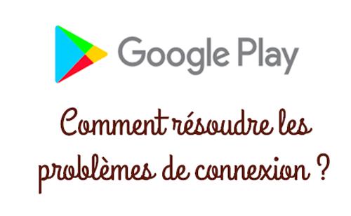 erreur de recherche de mise à jour google play