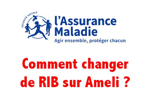 Comment changer RIB Ameli