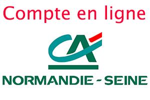 Mon compte Crédit Agricole Normandie Seine