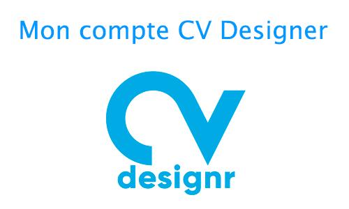 mon compte CV designr