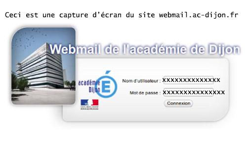 Se connecter à https://webmail.ac-dijon.fr/