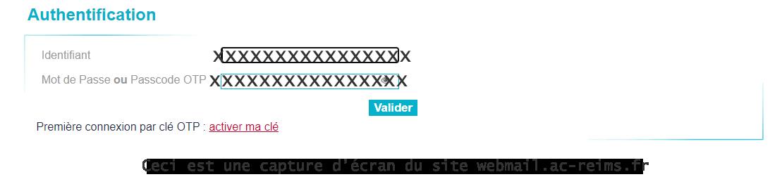 Login webmail Reims