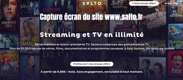 salto streaming tv illimite