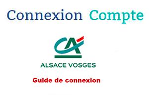 Crédit Agricole Alsace Vosges mon compte en ligne
