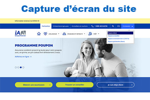 www.ia.ca inscription