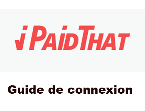 iPaidThat contact