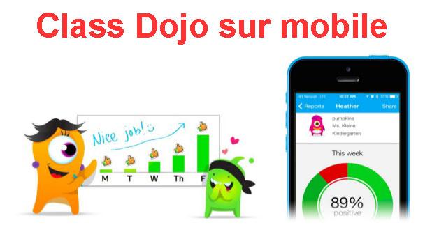 Télécharger l'application mobile Class Dojo