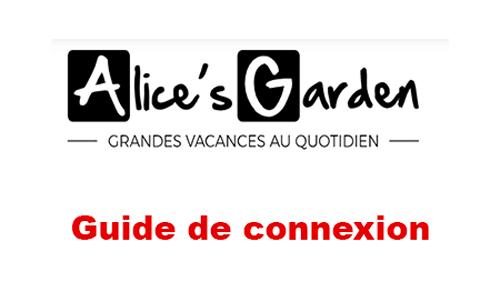 Accès à Alice Garden espace client